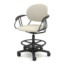 Steelcase - Steelcase | Uno Mid-Back Office Stool - Design by Charles O. Perry.
