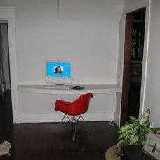 Modern Home Office by John Whipple - By Any Design ltd.