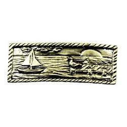 Sierra Lifestyles - Sail Boat Scene - Antique Brass (SIE-681569) - Sail Boat Scene - Antique Brass