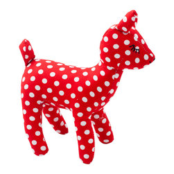 Pakhuis Oost - Fawn Dots Cuddle - Kids and parents will fawn over this soft, snuggly cuddle toy. This adorable little fawn is safe for babies and could also join your preschooler in an imaginary woodland game. It's a great bedroom decoration, too.