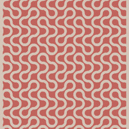 Surya - Surya Native Coral/Ivory Rug - This Hand Woven rug would make a great addition to any room in the house. The plush feel and durability of this rug will make it a must for your home. Free Shipping - Quick Delivery - Satisfaction Guaranteed