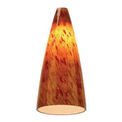 Sea Gull Lighting - Sea Gull Lighting 94229 Ambiance Transitions Cone Glass Shade - *Transitions Cone Glass Shade