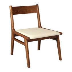 Modern Crafted Wood Dining Chair -