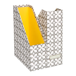 Synchronicity Stockholm Magazine File - Magazine holders are a great way to keep files, loose papers and magazines, of course, neatly organized. They can also bring fun patterns and bold color to your work space.