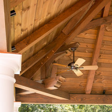 Traditional  by Hugh Lofting Timber Framing, Inc.