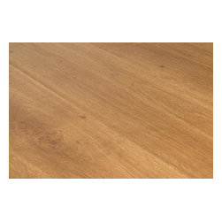 Lamton - Lamton Laminate - 12mm Barn Plank Collection - [15.4 sq ft/box] - Virginia Oak -  Lamton brings you unique top-quality, AC3-rated, CARB-ATCM - Phase 1 compliant, HDF-core laminate flooring with a textured surface that replicates a natural hardwood look. This line of Lamton 12mm features a pressed bevel edge with a single wide barn plank design that maintains its AC rating on the beveled edge as well.     Lamton panels feature the easy-install click-lock locking system which are effortlessly installed without gluing and can be installed over radiant heat; on, above or below ground. Combine these features with an impressive blend of oak styling, and it is clear that Lamton Laminate is an economical choice that doesn't compromise quality.