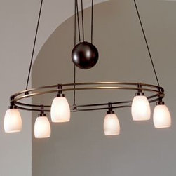 Low Voltage Halogen Chandelier No. 5556/6 by Holtkoetter -