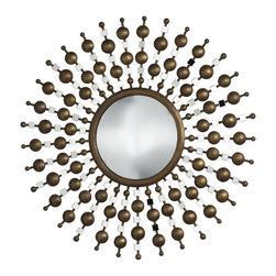 Cyan Design - Cyan Design Chandler Round Mirror X-87810 - Chandler Mirror