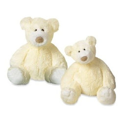 Mary Meyer - Mary Meyer Plush Creamy Bear - This adorable plush bear is ultra soft so it's nice and huggable for your little one, and the soft creamy coloring makes it a welcomed addition to any nursery.