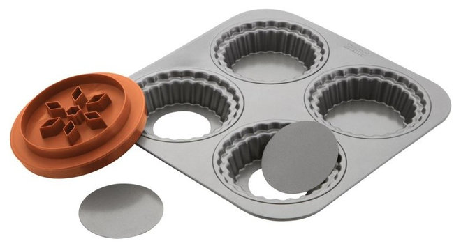 Contemporary Pie And Tart Pans by CHEFS