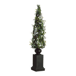 Silk Plants Direct - Silk Plants Direct Snowed Berry Twig Topiary (Pack of 2) - Pack of 2. Silk Plants Direct specializes in manufacturing, design and supply of the most life-like, premium quality artificial plants, trees, flowers, arrangements, topiaries and containers for home, office and commercial use. Our Snowed Berry Twig Topiary includes the following: