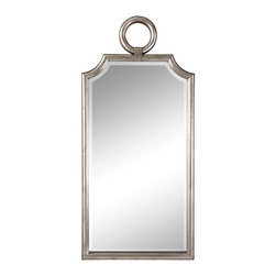 Cooper Classics - Cooper Classics Wilshire Mirror, Brushed Nickel - The Wilshire mirror will add style to any room. This charming beveled wall mirror features a brushed nickel finish and decorative frame that will compliment any decor.