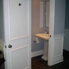traditional powder room by Norcon Home Improvements