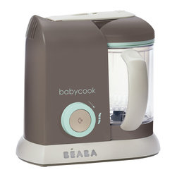 Beaba Food Cooker and Accessories - Beaba Babycook Pro Baby food Maker, Latte Mint - Beaba makes parents everyday life a little easier so they can devote more time and love to their baby. Beaba is working to revolutionize traditional infant care and offers today's parent a range of technically and conceptually innovative products, whose design is ground breaking. Already well-received throughout Europe and many other countries, Beaba is now launching in their flagship product, the Babycook in North America.