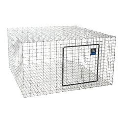 MILLER MFG CO - Rabbit Hutch 24 x 24 in - Features: