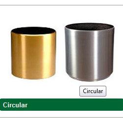 Aluminium planters - credit goes to goverhorticulture