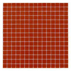Red Vitreous Mosaic Tile - SOLD BY BOX