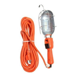 Motor Trend - Motor Trend 18 Gauge 3-Wire 25 ft. Red Portable Work Light MT686/3 - Shop for Lighting & Fans at The Home Depot. The red 18/3 25 ft. Portable Work Light is a 25 ft. hard service cord for general use at 300 volts, rated -31 F to +140 F, PVC thermoplastic insulated and jacketed. Motor Trend portable lighting is great for use in home, office, workshop and garages where temporary lighting is required. It is good for indoor or outdoor use.