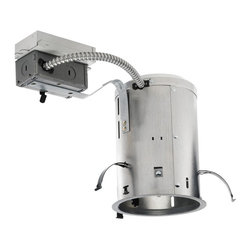 "Juno Lighting - PL526RE 5"" Non-IC Remodel Housing - 26W Triple Vertical CFL - 5"" Non-IC Remodel Housing - 26W Triple Vertical CFL"
