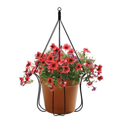 Plastec Products - Plastec Products Adjustable Plant Hanger Multicolor - 1431-0221 - Shop for Plant Hooks Shelves and Stands from Hayneedle.com! Enliven your home with the Plastec Products Adjustable Plant Hanger. Constructed from durable steel this beautiful plant hanger is designed for sturdy hanging and is easy to install around your patio deck porch or outdoor space. About PlastecPlastec offers a complete selection of affordable functional decorative and design-oriented plant accessories made from various materials and styles. Always striving for innovation Plastec has developed unique new ways to decorate with plants. They've brought color and design to garden decor watering and garden cleanup.