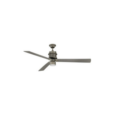 """Savoy House Aged Steel Ceiling Fan 56"""" Wide Muir 56"""" 3 Blade Ceiling Fan - Product Highlights"""