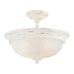 Minka Lavery - Minka Lavery 1298 3 Light Semi-Flush Ceiling Fixture from the Accents Provence C - Three Light Semi-Flush Ceiling Fixture from the Accents Provence CollectionFeatures: