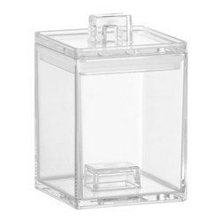 Mini Clear Stacker - These stackers are a handy way to store and organize all the little things and still be able to see what's inside.