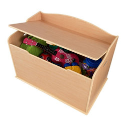 KidKraft - Austin Toy Box - Natural by Kidkraft - Our Austin Toy Box lets kids keep all of their favorite toys in one convenient place. This sturdy toy box was built to last and would fit right in with any room setting.