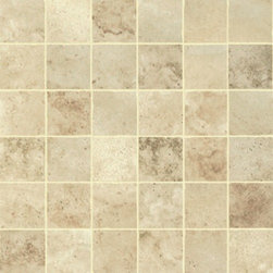 Energie Ker - Como Beige Mosaic 2 x 2 - With its meandering marble appearance, gradients, and bright colors, the Como series understands elegance. This collection is appropriate for places of great refinement.