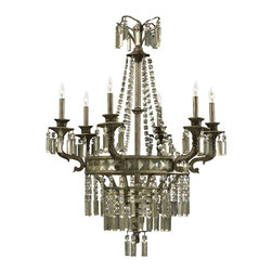Cyan Design - Six Lamp Chandelier-6488-6-33 - Six lamp chandelier - st. regis bronze