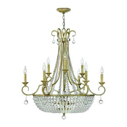 Fredrick Ramond - Fredrick Ramond-FR43759SLF-Caspia - Twelve Light Foyer - We have a boutique-quality line of lighting that is focused on design. Using the finest materials and finishes available, Offering unparalleled style that will impress even the most discerning audience and suit an array of sophisticated decor styles.