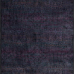 "Loloi Rugs - Loloi Rugs Madeline Collection - Charcoal / Multi, 7'-7"" x 10'-5"" - Distinguished by its unprecedented watercolor design, the Madeline Collection features a series of gorgeous, show-stopping rugs at an unbeatable price. Power-loomed of 100% polypropylene in Egypt, Madeline's color space-dyeing technique gradates the bold and vibrant colors throughout the rug to create a stunning rendition of popular watercolor paintings."