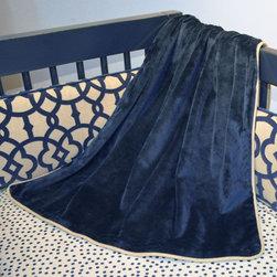Doodlefish - Clair Crib Blanket - Clair Baby Blanket