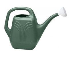 Bloem - Bloem 2 Gallon Watering Can Midsummer Night Green JW82-52 - 1-piece construction eliminates leaks