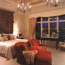 Mediterranean Bedroom by Terry L Irwin Architects
