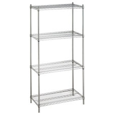 storage and organization by JustShelfIt.com - Metal Shelving Racks For Storage