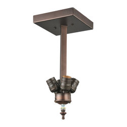 Meyda Tiffany - Meyda Tiffany Wiring Components Ceiling Mount Fixture - Shown in picture: Mission Flushmount