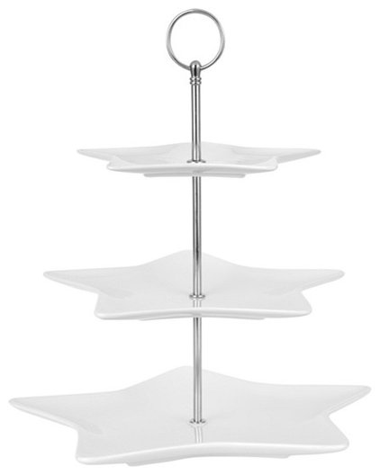 Contemporary Dessert And Cake Stands by John Lewis