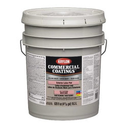 SHERWIN WILLIAMS - Excellent Latex Paint, White, Semi gloss, 5-Gallon - Features: