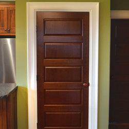Liberty Door Series - This is a standard L-501 design in Cherry.