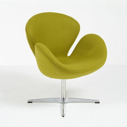 Modern Classics - Jacobsen: Swan Chair Reproduction - Features: