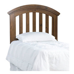 Standard Furniture - Standard Furniture Parker Kids Panel Headboard in Golden Brown Cherry - Parker Bedroom offers the perfect solution for rooms that have a smaller footprint, yet still need lots of storage.