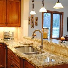 Mediterranean Kitchen Cabinetry by Sterling Kitchen & Bath