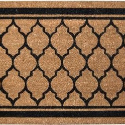 Cocoa VB, Garden Gate Ebony Doormat
