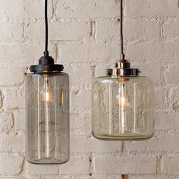 Glass Jar Instant Suspended Pendant Lighting for Indoor - Add warmth to your home by hanging this Glass Mason Jar Instant Suspended Pendant Lighting for Indoor in your living room,kitchen,or children's bedroom.Once you hang this lamp, you'll start critiquing every other lighting fixture in the house. The light's unique design will change the way you think about illuminating a room.