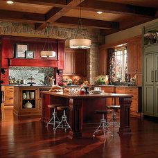 Modern Kitchen Islands And Kitchen Carts by Fischer-Daniels Kitchen Designs