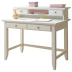 Sauder Original Cottage Desk In Melon Yellow Finish