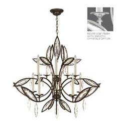 Fine Art Lamps - Fine Art Lamps Marquise 844140-11ST Ten-Light 47'' Wide Grand Chandelier - Fine Art Lamps' artistic heritage began in the glass making factory founded by Max Blumberg in New York in the late nineteenth century. In 1940 his son Jack Blumberg gathered the finest designers sculptors and decorative artists to fulfill their vision of becoming the premier lighting manufacturer in the world and Fine Art Lamps was born. From the beginning Fine Art Lamps has achieved a high artistic standard by creating unique and original lighting designs of beautifully handcrafted metal hand-blown glass and other unique materials with exquisite hand applied finishes. In all Fine Art lamps represents the singular vision of over 700 skilled designers artists craftsman and associates working together in five plants totaling over 400000 square feet to create unique works of art for the international design community. An American Manufacturer with International AppealFine Art Lamps has a global market and universal design appeal. From its' Florida facilities Fine Art Lamps lighting travels to every corner of the world destined for the finest homes villas palaces hotels and public spaces.Fine Art Lamps has expertise in foreign wiring requirements covering every continent and customers rely upon the company's International Product Specification Brochure for accurate measurements weights and technical specifications.