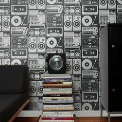 Aimee Wilder Analog Nights Wallpaper - The Analog Nights Wallpaper by Aimee Wilder is full of imagination. With the large range of colors to choose from, you are sure to find the perfect match for your room.