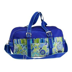 Hadaki Nylon Get Away Duffle Bag - Jazz Cobalt